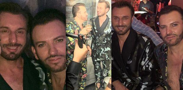 """Rafał i Gabriel z """"Królowych życia"""" cieszą się swoim towarzystwem na imprezie w klubie. WRÓCILI DO SIEBIE? (ZDJĘCIA)"""
