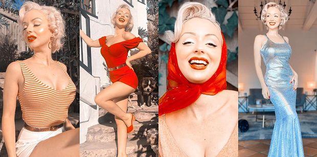 25-letnia Szkotka podbija internet jako sobowtórka... Marilyn Monroe! Poznajcie Jasmine Chiswell (ZDJĘCIA)