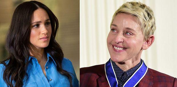 """Meghan Markle chce udzielić PIERWSZEGO WYWIADU po """"Megxicie"""" u Ellen DeGeneres. """"Ona rozumie jej ból i cierpienie"""""""