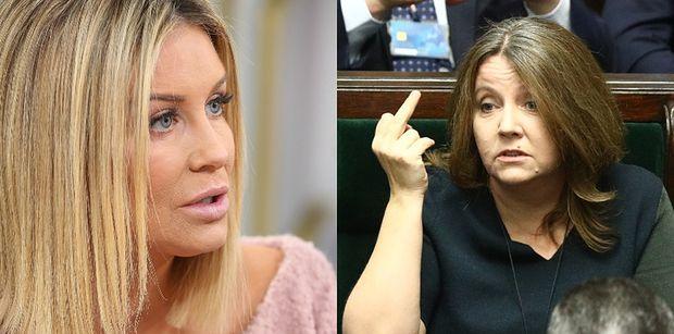 """Małgorzata Rozenek jest """"ZNIESMACZONA"""" decyzją rządu. """"Nie chodzi o ludzi, chodzi o wygranie wyborów!"""""""
