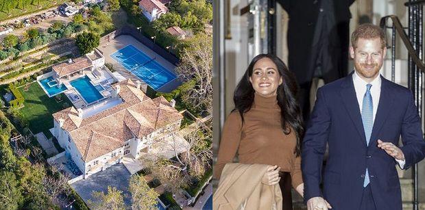 Harry i Meghan jednak przeprowadzą się do Kalifornii? Wpadła im w oko posiadłość za 7 milionów dolarów!