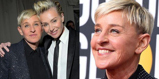 """Portia De Rossi staje w obronie Ellen DeGeneres. """"Twierdzi, że jej żona padła ofiarą INTERNETOWYCH BOTÓW"""""""