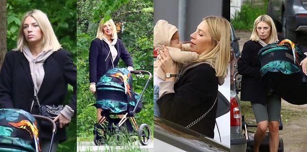 Sportowa Martyna Gliwińska wraz z synkiem relaksuje się na spacerze po gdańskim zoo (ZDJĘCIA)