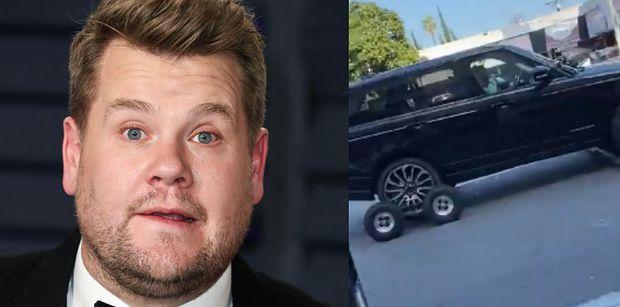 """James Corden NIE PROWADZI AUTA podczas """"Carpool Karaoke"""". Fani doznali szoku: """"Moje życie okazało się KŁAMSTWEM"""""""