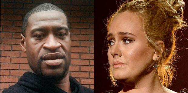 """Zdegustowana Adele zabiera głos w sprawie śmierci George'a Floyda: """"Rasizm ma się świetnie i jest WSZĘDZIE"""""""