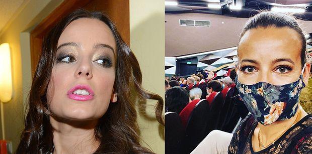 """Spragniona """"kultury wyższej"""" Anna Mucha chwali się wizytą w teatrze. Internauci: """"CO ZA EGOIZM"""""""