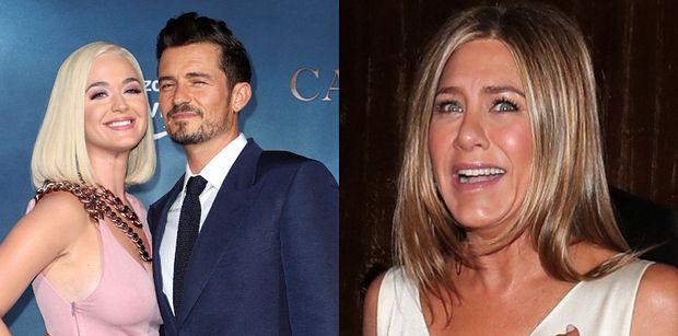 Katy Perry i Orlando Bloom wybrali Jennifer Aniston na... MATKĘ CHRZESTNĄ dla ich córki!