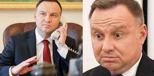 Rosyjscy youtuberzy SPRANKOWALI Andrzeja Dudę! Prezydent myślał, że rozmawia z Sekretarzem Generalnym ONZ
