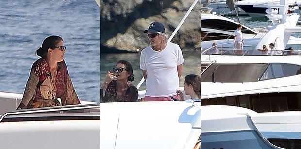 Rodzinni Catherine Zeta Jones i Michael Douglas świętują 20. urodziny syna na luksusowym jachcie (ZDJĘCIA)