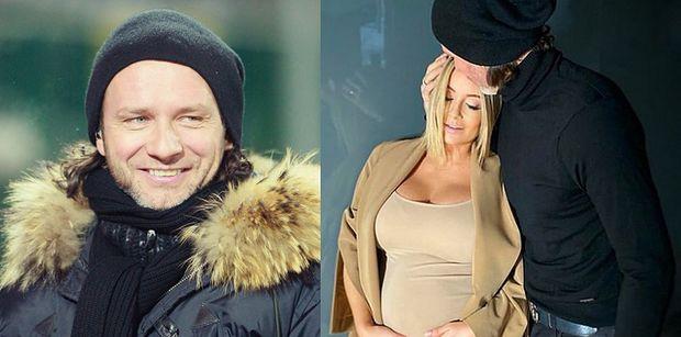 """TYLKO NA PUDELKU: Podekscytowany Radosław Majdan zdradza TERMIN PORODU Małgosi i dodaje: """"Ustaliliśmy, że to ja będę kąpał dziecko"""""""