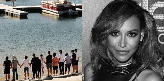 """Naya Rivera nie żyje. Pogrążeni w żałobie znajomi z """"Glee"""" oddali jej hołd nad jeziorem Piru (ZDJĘCIA)"""