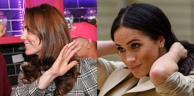 """Meghan Markle i Kate Middleton ZERWAŁY ZE SOBĄ KONTAKT? """"Nie rozmawiały od czasu """"Megxitu"""""""""""