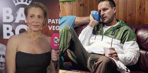 """Dumna Katarzyna Warnke rozpływa się nad mężem: """"Gra niezłego wariata"""""""