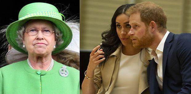 """Królowa Elżbieta ZABRONIŁA Meghan Markle i Harry'emu korzystać z marki """"Sussex Royal""""!"""
