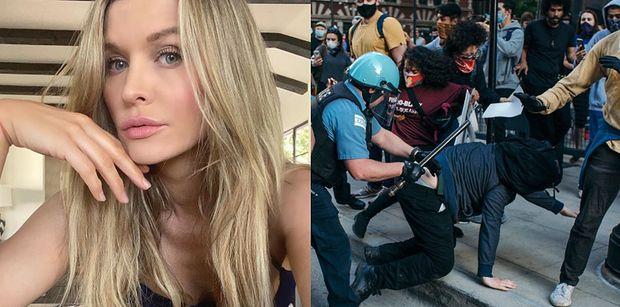 """TYLKO NA PUDELKU: Joanna Krupa OSTRO o protestach w Ameryce: """"ROZWALAJĄ LUDZIOM BIZNESY. Biją się!"""""""