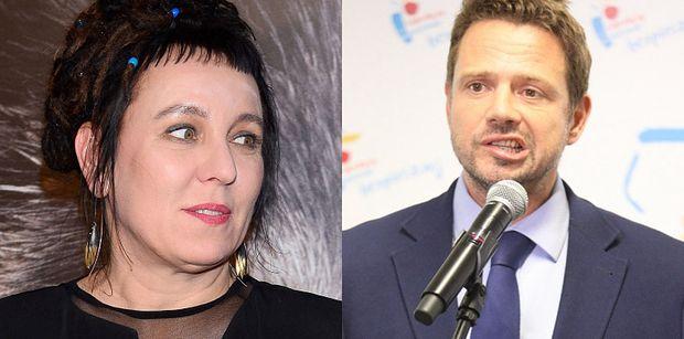 """Olga Tokarczuk DEMENTUJE, że napisała list z podziękowaniami dla Rafała Trzaskowskiego! """"TO FEJK"""""""