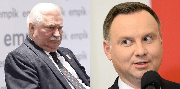 """Rozsierdzony Lech Wałęsa uderza w Andrzeja Dudę: """"SK**WYSYN MUSI BYĆ ROZLICZONY"""""""