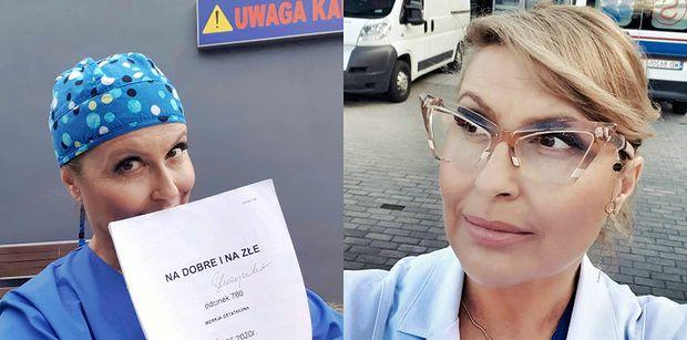 """Katarzyna Skrzynecka skrytykowana za rolę w """"Na Dobre i Na Złe"""": """"Gra pani u WROGÓW NARODU"""""""