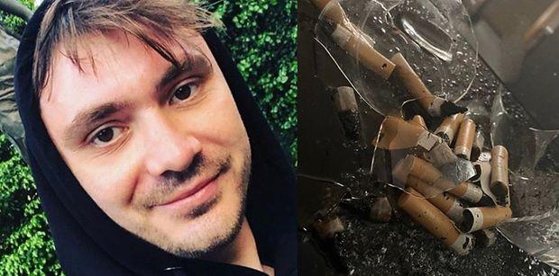"""Posępny Daniel Martyniuk pokazuje zdjęcie ZBITEGO SZKŁA i wyznaje: """"Nie mogę UTULIĆ WŁASNEGO DZIECKA przez czystą nienawiść"""""""