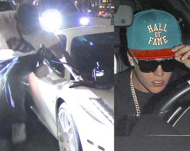 Bieber POTRĄCIŁ CZŁOWIEKA! Uciekł z miejsca wypadku! (ZDJĘCIA)