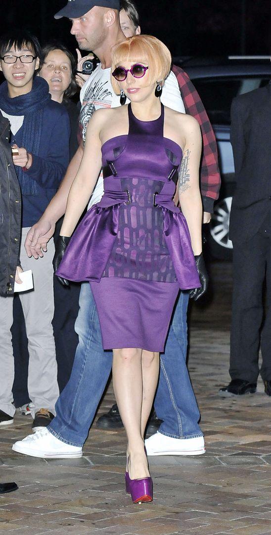Nowy Tatuaż Lady Gagi Foto Pudelek