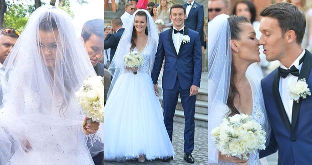 Suknia ślubna Radwańskiej kosztowała fortunę? Zużyto na nią 6,5 tysiąca kryształków Swarovskiego...