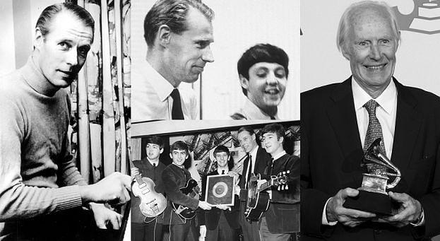 """Zmarł """"piąty Beatles"""", George Martin"""