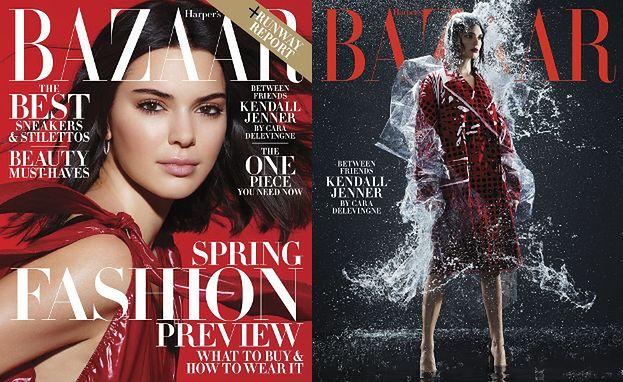 "Kendall Jenner cierpi dla mody w ""Harper's Bazaar"""