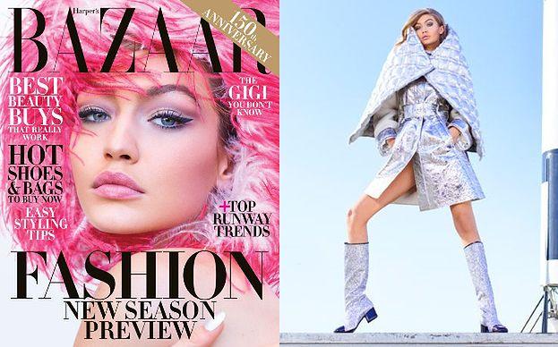 """Gigi Hadid w kosmicznej sesji dla """"Harper's Bazaar"""""""