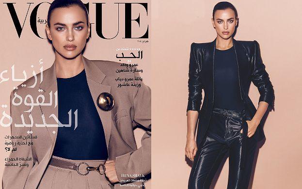 """Elegancka Irina Shayk pozuje dla """"Vogue'a"""""""