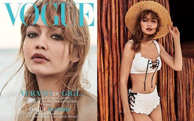 """Odmieniona Gigi Hadid w plażowej sesji dla meksykańskiego """"Vogue'a"""""""