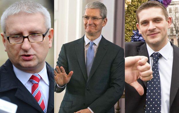 """Poseł PiS o homoseksualizmie szefa Apple: """"Z bożą pokorą przyjmuje to nieszczęście"""""""