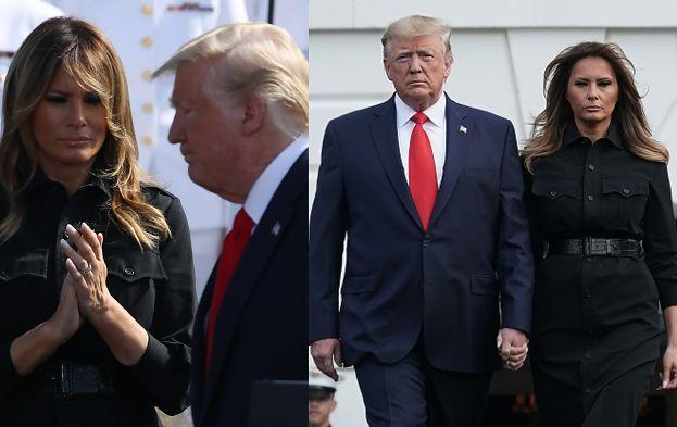 Rocznica 11 września. Poważna Melania Trump upamiętnia ofiary ataku na World Trade Center (ZDJĘCIA)
