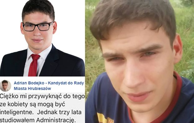 """Kandydat PiS z Hrubieszowa: """"Ciężko mi przywyknąć do tego, że KOBIETY MOGĄ BYĆ INTELIGENTNE"""""""