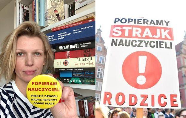 """Magda Mołek komentuje strajk nauczycieli. Fani zachwyceni: """"Tyle prawdy w kilku zdaniach"""""""