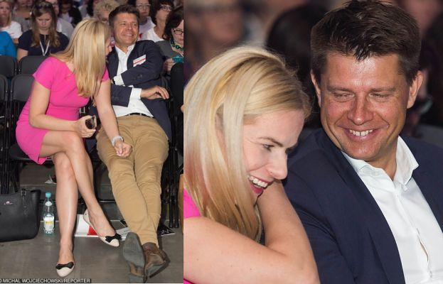 Zakochani Petru i Schmidt flirtują na Kongresie Kobiet (FOTO)