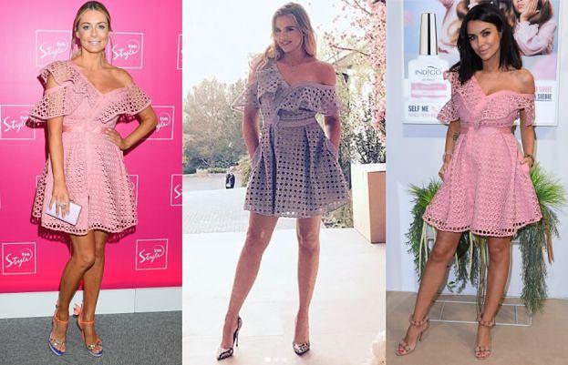 Khloe Kardashian w sukience Rozenek i Siwiec. Która wygląda lepiej? (ZDJĘCIA)