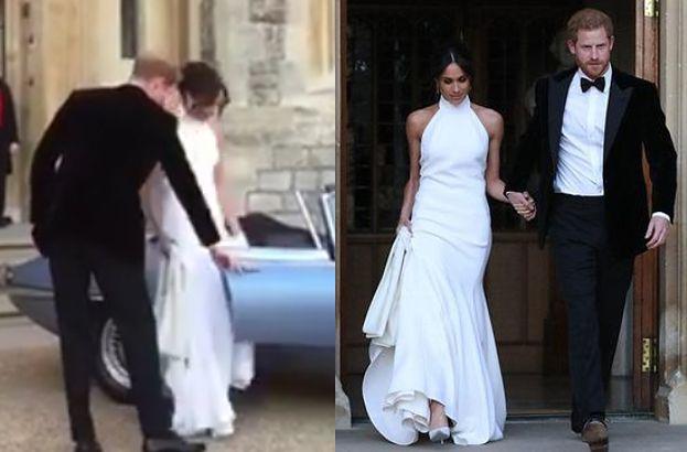 Tak Wyglądała Druga Suknia ślubna Meghan Będzie Bawić Się W Niej Na