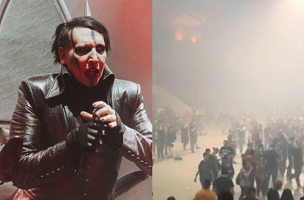 """Koncert Marylin Mansona w Polsce przerwany! """"Wymagane było natychmiastowe opuszczenie budynku"""" (Z OSTATNIEJ CHWILI)"""