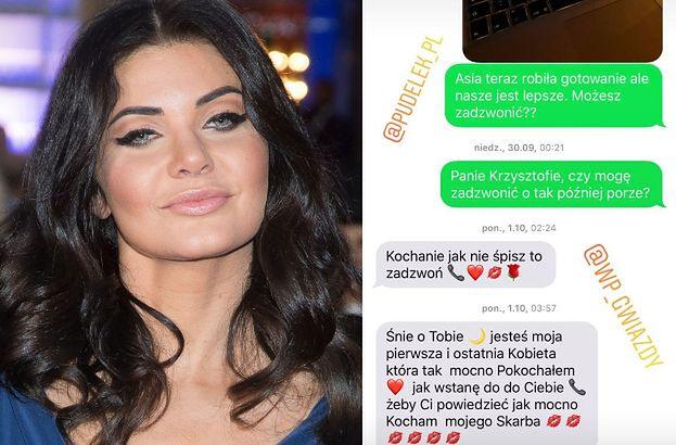 """Wodzianka nie odpuszcza. Publikuje SMS-y od Rutkowskiego: """"Kocham Ciebie, to nie są puste słowa"""""""