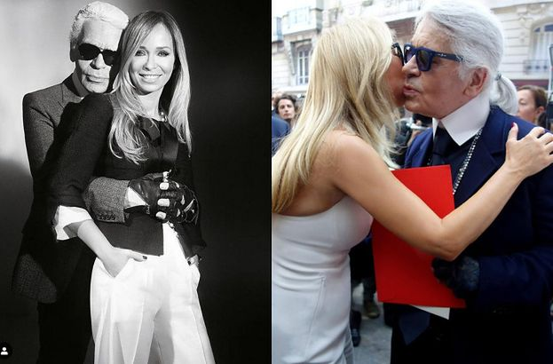 """Joanna Przetakiewicz wspomina Lagerfelda. """"Mało kto o tym wie, że Karl był najcieplejszą osobą, jaką można sobie wyobrazić"""""""
