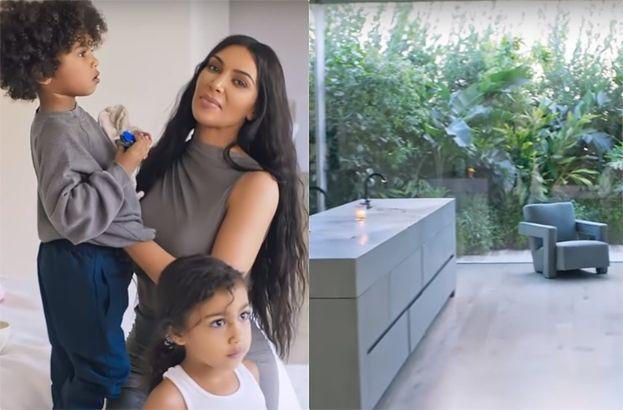 """Kim Kardashian pokazała swoją posiadłość! Nie wszystkim się spodobała. """"Pozbawione duszy wnętrza"""""""