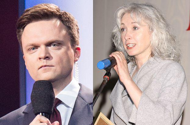 Manuela Gretkowska brutalnie burzy marzenia Hołowni o