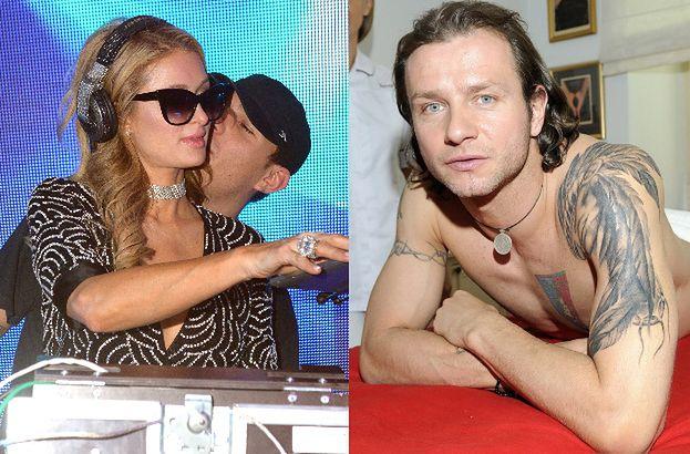 Były narzeczony Paris Hilton zasłonił tatuaż z jej imieniem GORYLEM. Lepszy niż stary Indianin?