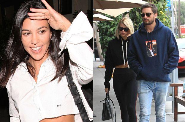 """Kourtney Kardashian i Sofia Richie wreszcie się spotkały. """"Scott chciał, żeby się polubiły"""""""