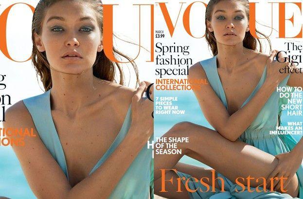 """Gigi Hadid pozuje z bratem dla """"Vogue'a"""""""