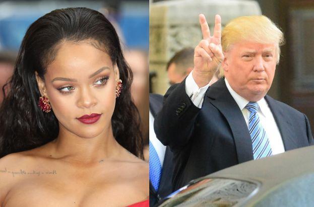 """Rihanna uderza w Trumpa: """"Przestań używać mojej muzyki!"""""""