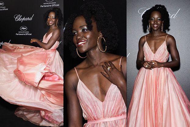 Lupita zamiata suknią w Cannes