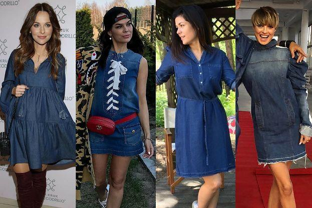 7fe81d5774 Jeansowa Sukienka Na Lato 5 Inspiracji Pudelek