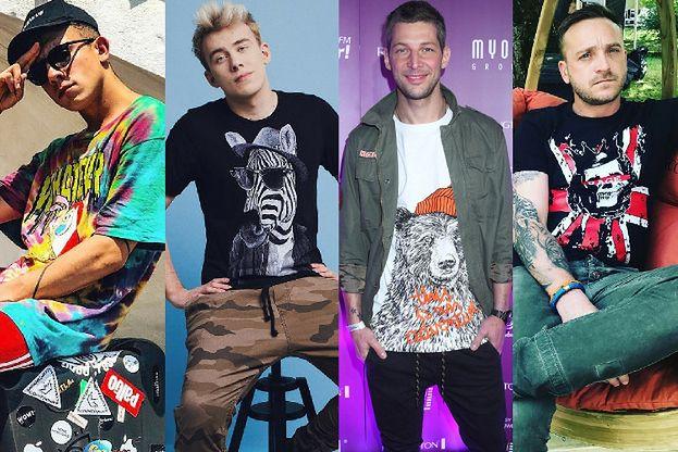 Najciekawsze koszulki z nadrukiem - zobacz stylizacje gwiazd